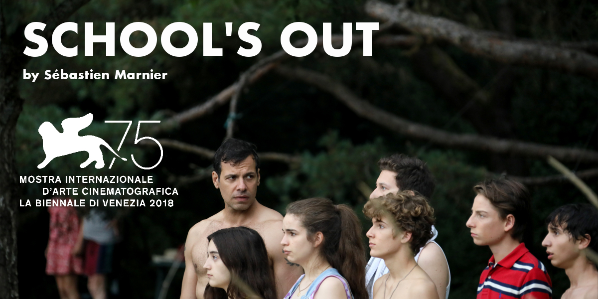 Rush to theaters, SCHOOL'S OUT (L'HEURE DE LA SORTIE) by Sébastien Marnier is out in France today!